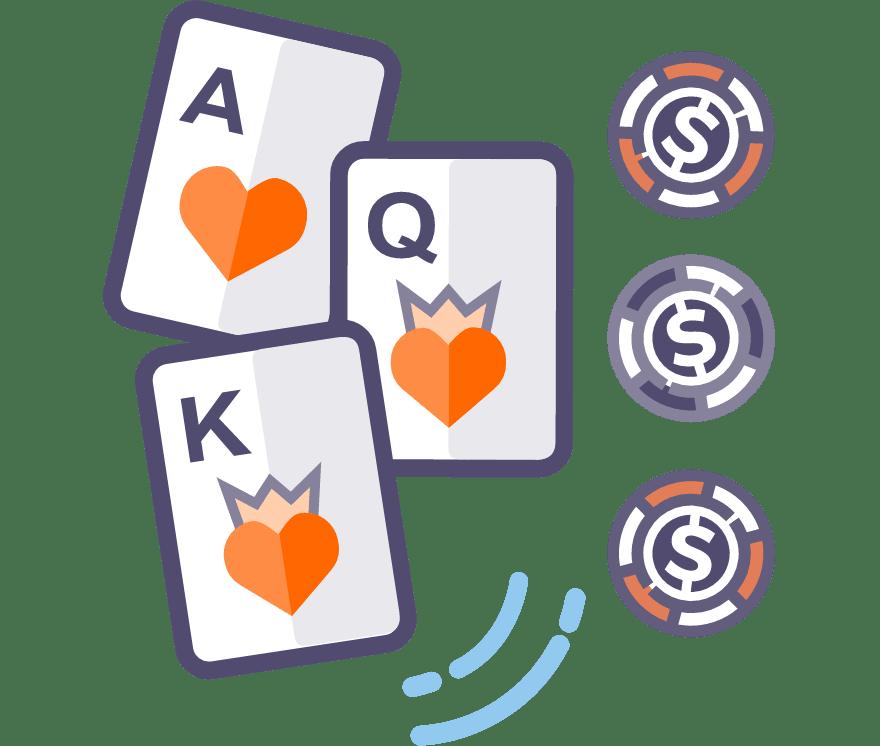 Los 63 mejores sitios de Casino de Póker de tres cartas en línea en Uruguay