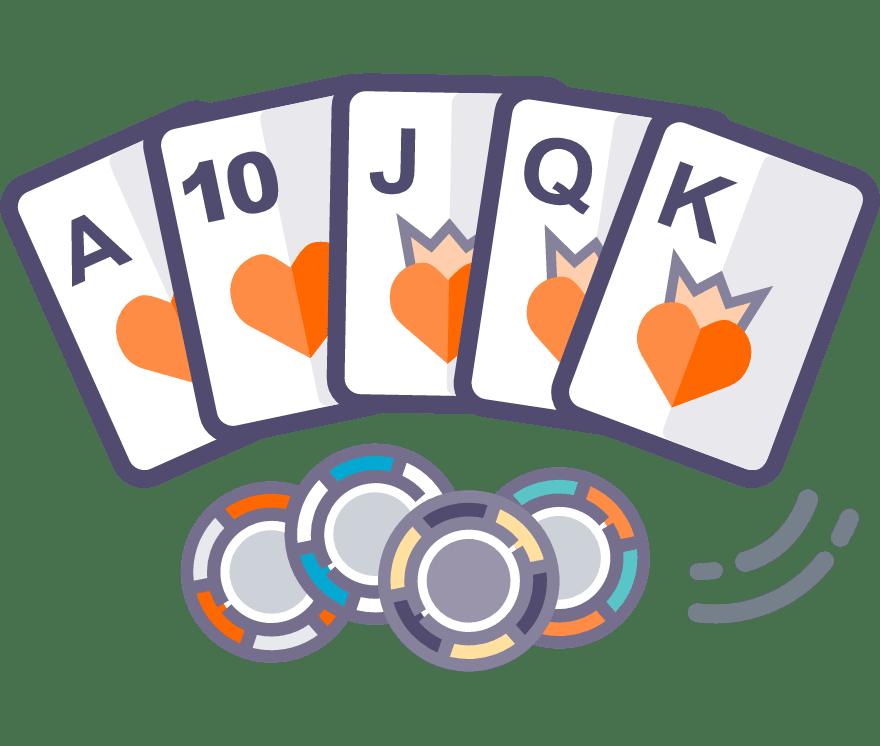 Los 59 mejores sitios de Casino de Texas Hold'em en línea en Uruguay